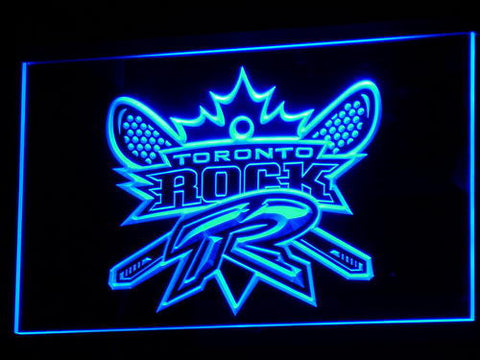 Image of Toronto Rock LED Neon Sign - Legacy Edition - Blue - SafeSpecial