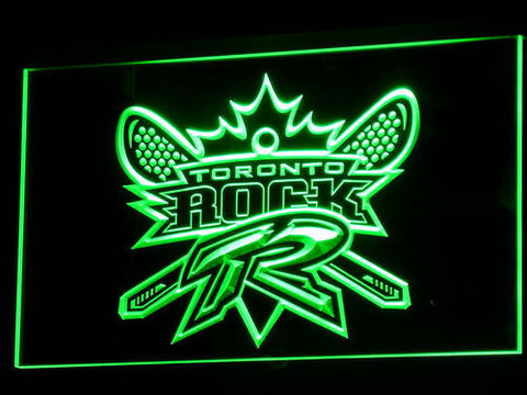 Image of Toronto Rock LED Neon Sign - Legacy Edition - Green - SafeSpecial