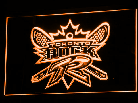 Image of Toronto Rock LED Neon Sign - Legacy Edition - Orange - SafeSpecial