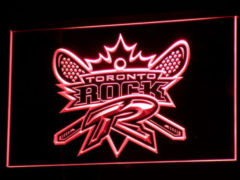 Image of Toronto Rock LED Neon Sign - Legacy Edition - Red - SafeSpecial