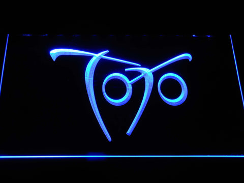 Toto Falling In Between LED Neon Sign - Blue - SafeSpecial