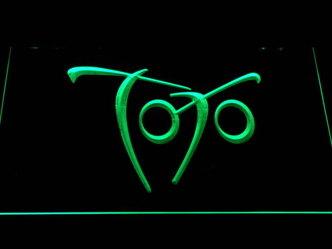 Toto Falling In Between LED Neon Sign - Green - SafeSpecial