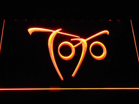 Toto Falling In Between LED Neon Sign - Orange - SafeSpecial