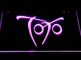 Toto Falling In Between LED Neon Sign - Purple - SafeSpecial