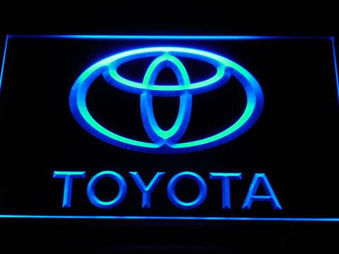 Toyota LED Neon Sign - Blue - SafeSpecial