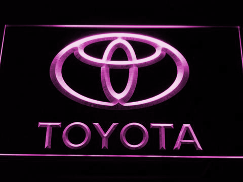 Image of Toyota LED Neon Sign - Purple - SafeSpecial