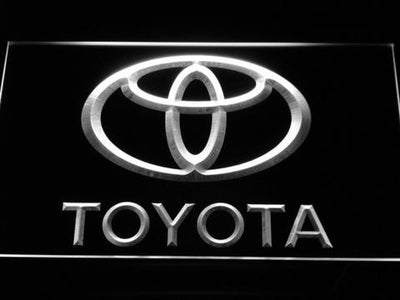 Toyota LED Neon Sign - White - SafeSpecial