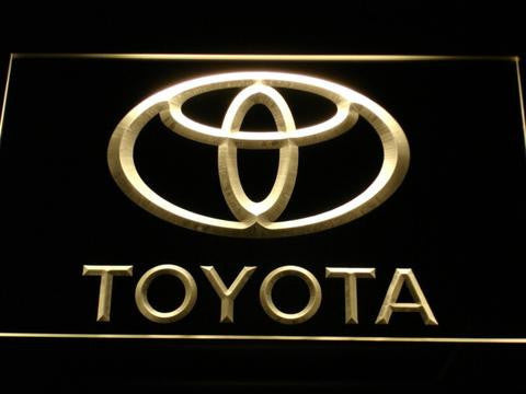 Image of Toyota LED Neon Sign - Yellow - SafeSpecial