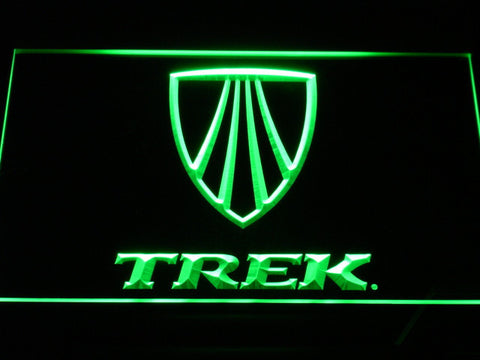 Image of Trek LED Neon Sign - Green - SafeSpecial