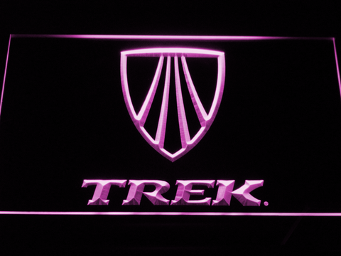 Image of Trek LED Neon Sign - Purple - SafeSpecial