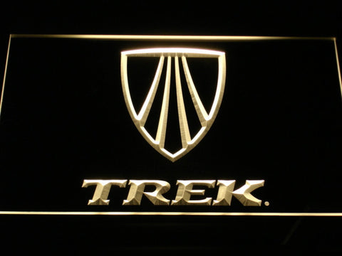 Trek LED Neon Sign - Yellow - SafeSpecial