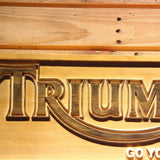 Triumph Go Your Own Way Wooden Sign - - SafeSpecial
