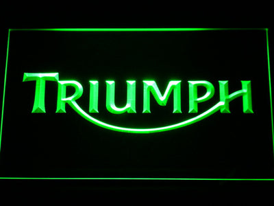 Triumph LED Neon Sign - Green - SafeSpecial