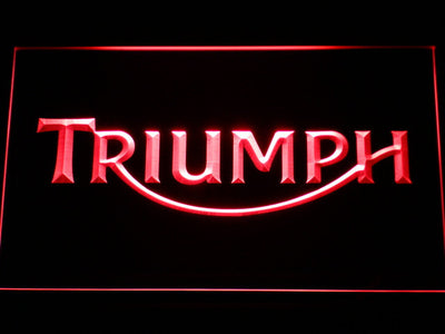 Triumph LED Neon Sign - Red - SafeSpecial