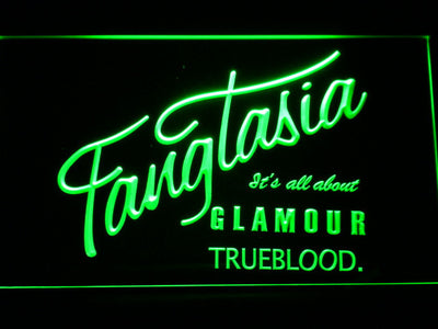 True Blood Fangtasia LED Neon Sign - Green - SafeSpecial