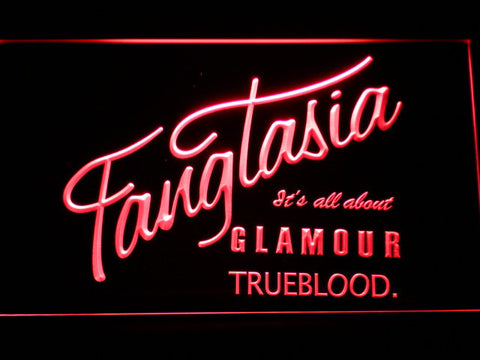 True Blood Fangtasia LED Neon Sign - Red - SafeSpecial