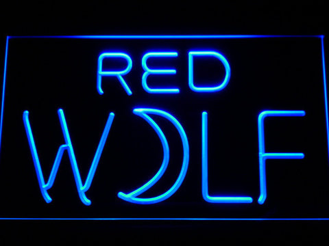Image of True Blood Red Wolf LED Neon Sign - Blue - SafeSpecial