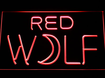 True Blood Red Wolf LED Neon Sign - Red - SafeSpecial