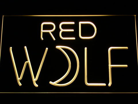 Image of True Blood Red Wolf LED Neon Sign - Yellow - SafeSpecial
