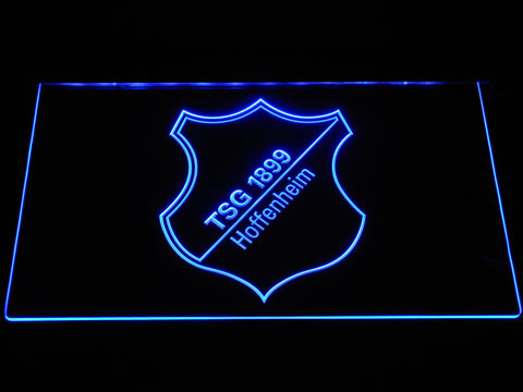 Image of TSG 1899 Hoffenheim LED Neon Sign - Blue - SafeSpecial
