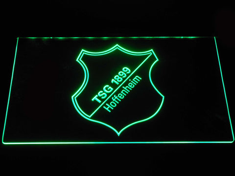 Image of TSG 1899 Hoffenheim LED Neon Sign - Green - SafeSpecial