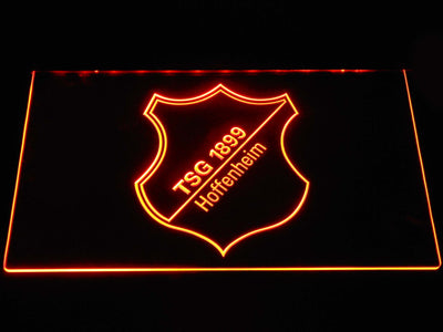 TSG 1899 Hoffenheim LED Neon Sign - Orange - SafeSpecial
