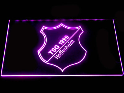 TSG 1899 Hoffenheim LED Neon Sign - Purple - SafeSpecial