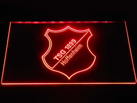 Image of TSG 1899 Hoffenheim LED Neon Sign - Red - SafeSpecial