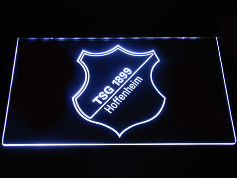 Image of TSG 1899 Hoffenheim LED Neon Sign - White - SafeSpecial