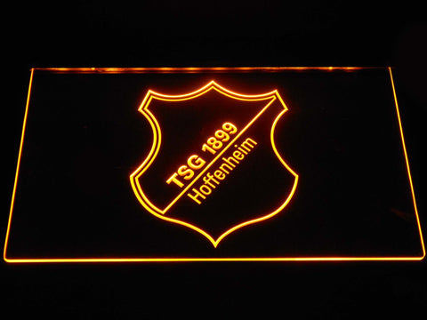 Image of TSG 1899 Hoffenheim LED Neon Sign - Yellow - SafeSpecial