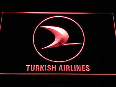 Turkish Airlines LED Neon Sign - Red - SafeSpecial