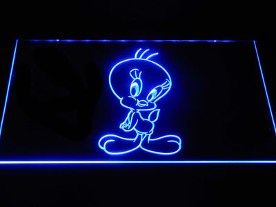Tweety LED Neon Sign - Blue - SafeSpecial