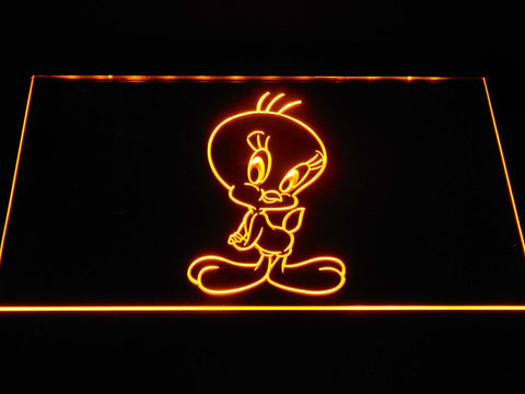 Tweety LED Neon Sign - Yellow - SafeSpecial