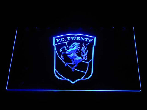 Twente LED Neon Sign - Blue - SafeSpecial