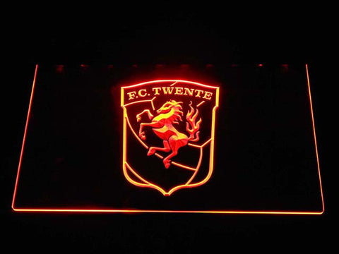 Twente LED Neon Sign - Orange - SafeSpecial