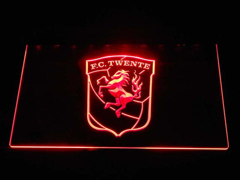Twente LED Neon Sign - Red - SafeSpecial