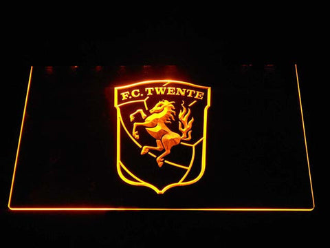 Twente LED Neon Sign - Yellow - SafeSpecial