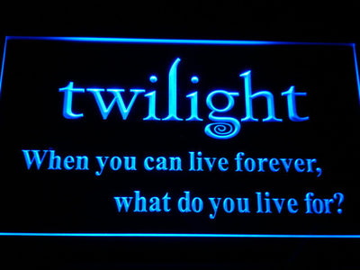 Twilight LED Neon Sign - Blue - SafeSpecial