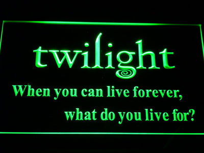 Twilight LED Neon Sign - Green - SafeSpecial