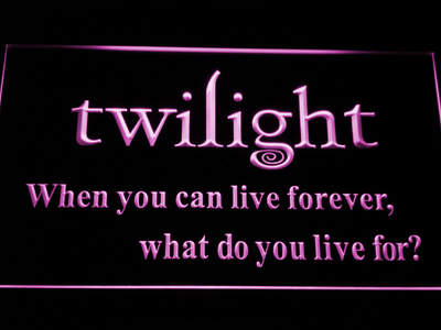 Twilight LED Neon Sign - Purple - SafeSpecial