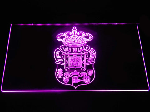 Image of UD Las Palmas LED Neon Sign - Purple - SafeSpecial