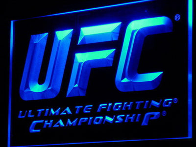 UFC LED Neon Sign - Blue - SafeSpecial