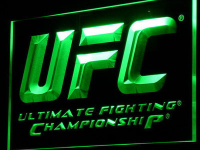 UFC LED Neon Sign - Green - SafeSpecial