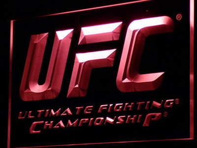UFC LED Neon Sign - Red - SafeSpecial