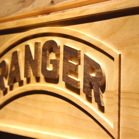 US Army Ranger Wooden Sign - - SafeSpecial