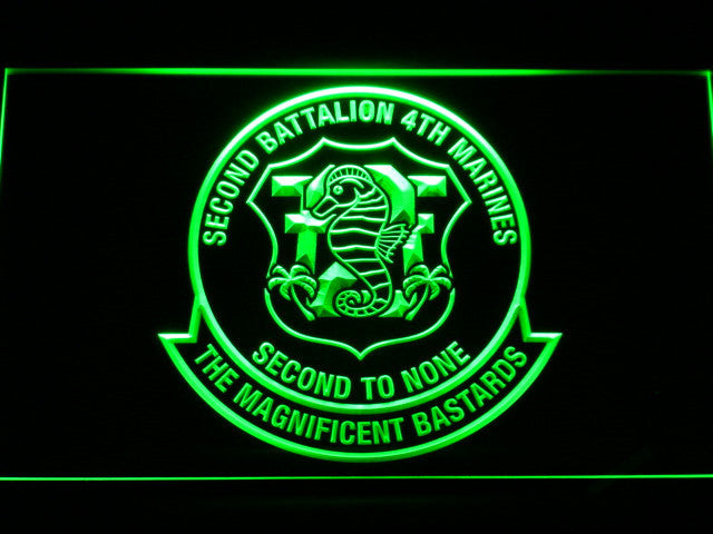 SECOND BATTALION 4TH MARINES SECOND TO NONE PIN