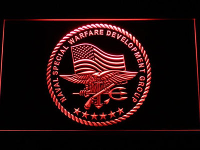 US Navy SEAL LED Neon Sign - Red - SafeSpecial