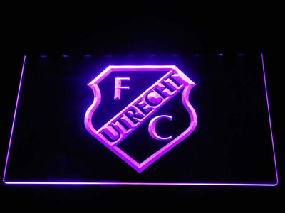 Utrecht LED Neon Sign - Purple - SafeSpecial