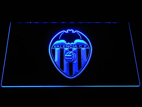 Image of Valencia CF LED Neon Sign - Blue - SafeSpecial