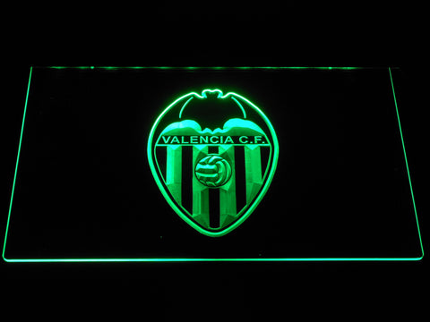 Image of Valencia CF LED Neon Sign - Green - SafeSpecial